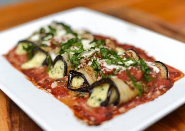 خوراک بادنجان ایتالیایی