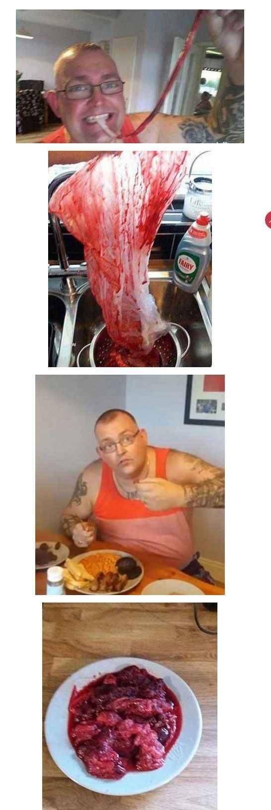 مردی دیوانه جفت جنین همسرش را با میل فراوان خورد! +عکس