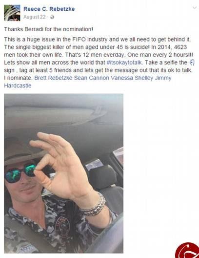 مردی پس از مشاهده آمار خودکشی خودش را کشت! +عکس