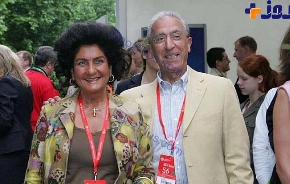 پروفسور سمیعی و همسرش