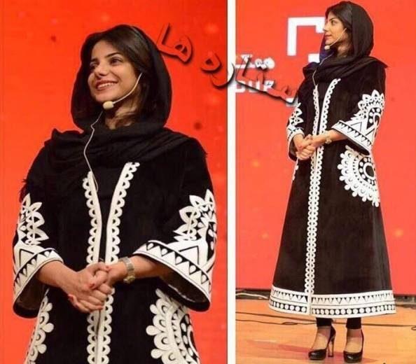 عکس مرجان فردوسی پور خواهر عادل فردوسی پور مجری برنامه نود