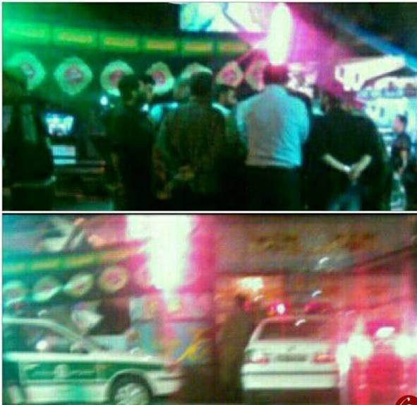 حمله با تفنگ به هیات عزاداری و مجرح شدن 2 نفر در ساری +عکس