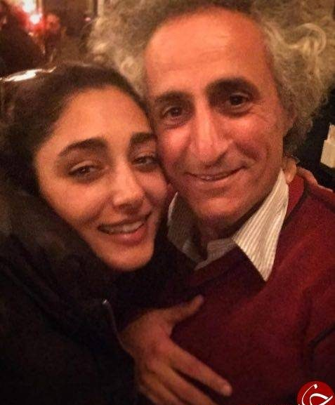 گلشیفته فراهانی در آغوش مرد خائن ایرانی!