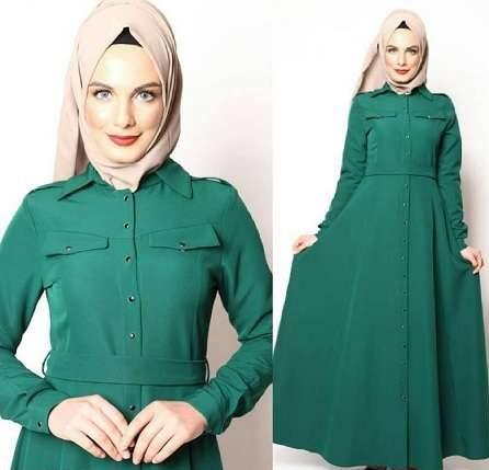 مدل لباس مجلسی کوتاه پوشیده جدید