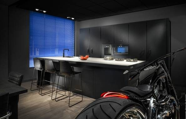 جدیدترین طراحی و مدل کابینت مشکی آشپزخانه