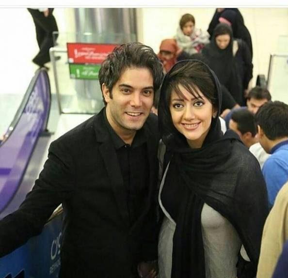 عکس های جدید امیرعلی نبویان و همسرش