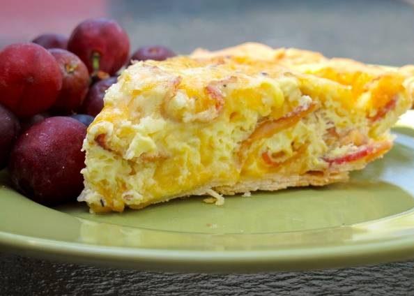 پای پنیر و تخم مرغ