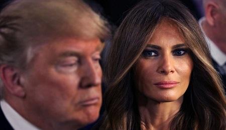 عکس های برهنه همسر نامزد ریاست جمهوری آمریکا که جنجالی شد!