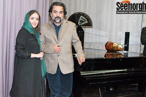 عکس جدید یغما گلرویی و همسرش