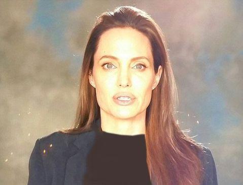عکس از چهره آنجلینا جولی پس از جدایی از همسرش