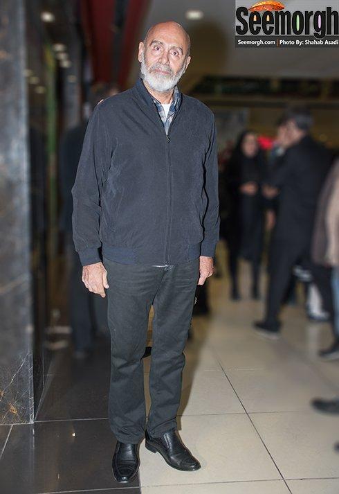 عکس جمشید هاشم پور در اکران فیلم نفس در پردیس کوروش