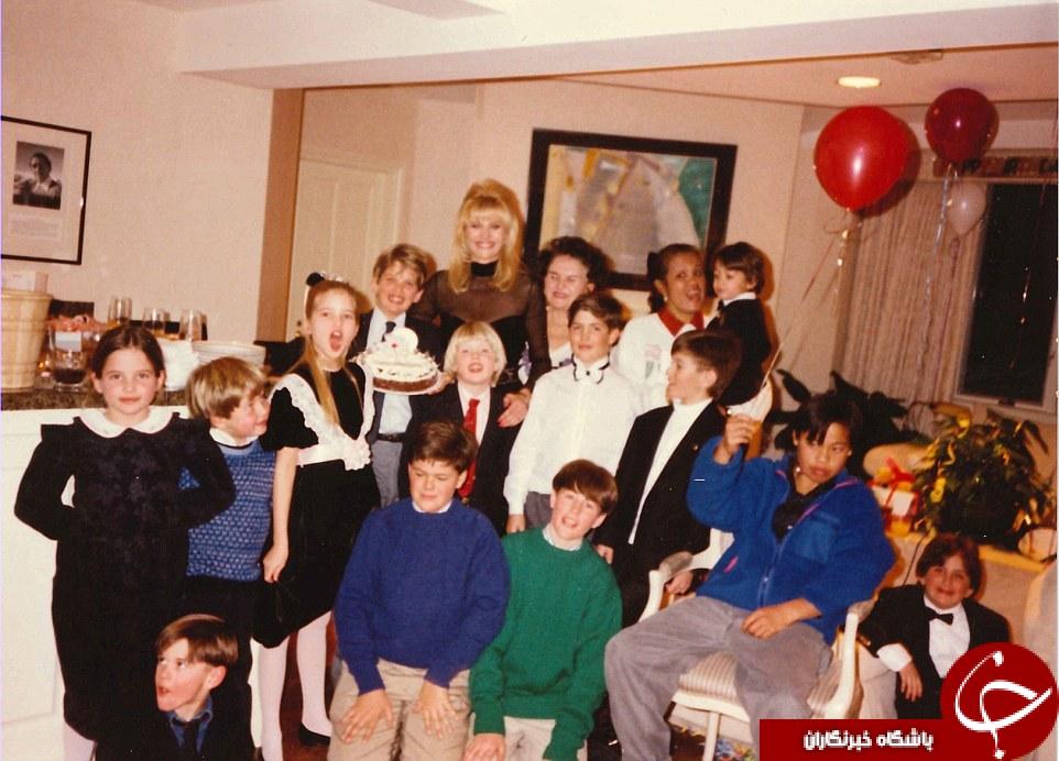 عکس های خصوصی لو رفته خانوادگی دونالد ترامپ!