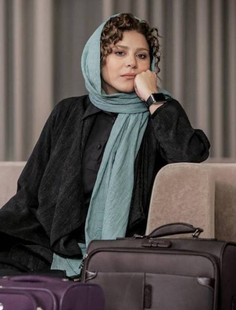 عکس های مدل موی متفاوت و جذاب سحر دولتشاهی در فیلم لابی