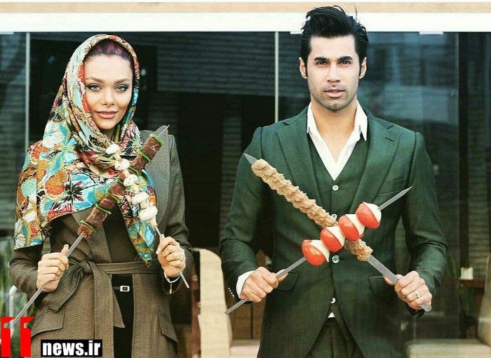 عکس جدید محسن فروزان و همسرش در حال تبلیغ !