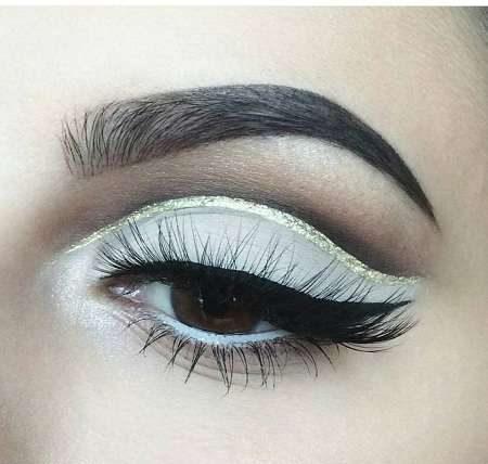عکس های مدل آرایش چشم و ابرو عروس شیک و جذاب
