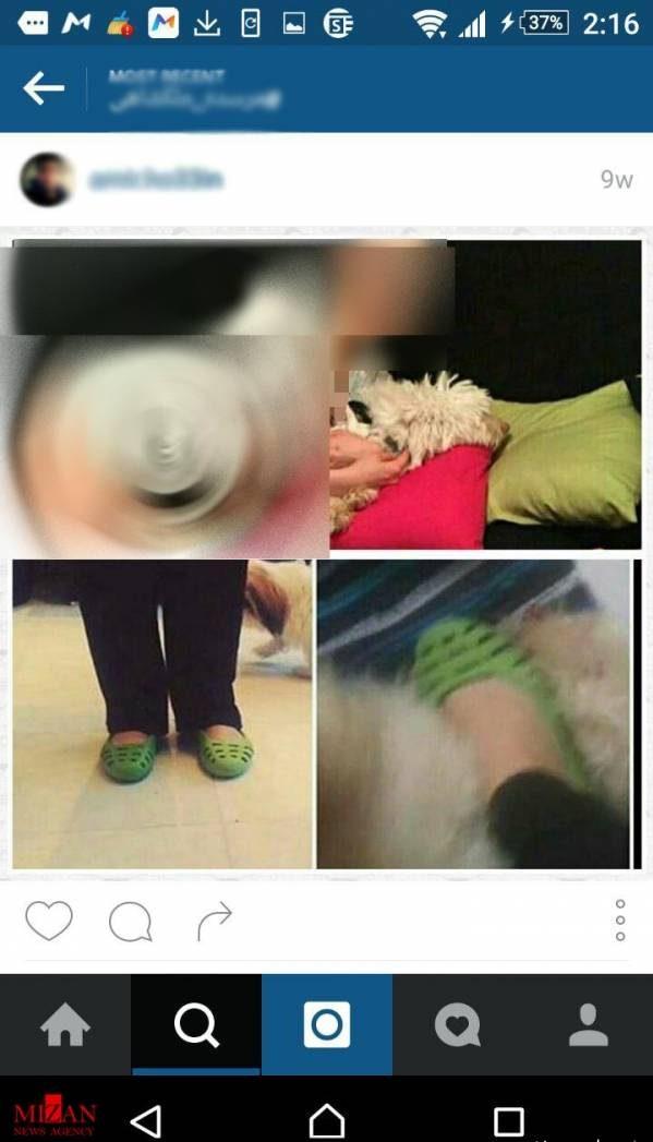 دستگیر شدن دختر حیوان آزار معروف اینستاگرام + عکس