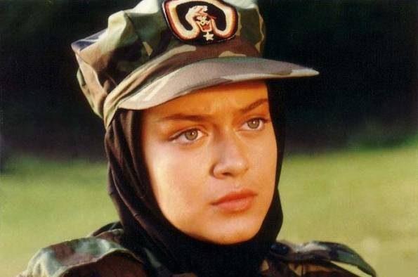 عکس از مدل لباس خفن نظامی بهاره رهنما بازیگر زن