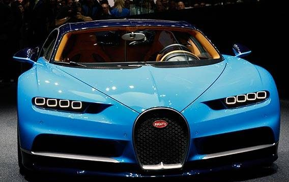 Bugatti Chiron بوگاتی شیرون