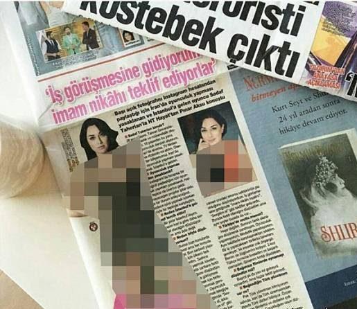 پیشنهادهای غیر اخلاقی که در ترکیه به صدف طاهریان شد!