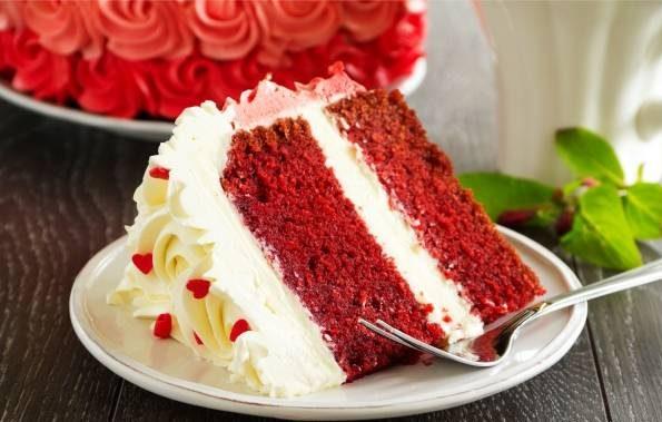 کیک مخملی