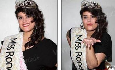 زیباترین و جذاب ترین دختر چاق فرانسه انتخاب شد + عکس دختر چاق