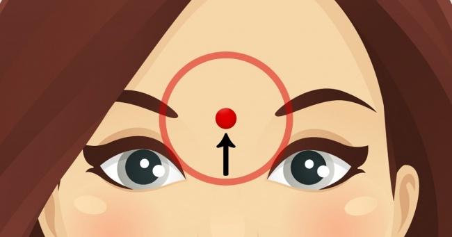 نحوه ماساژ صورت و پیشانی برای کاهش استرس های روزانه