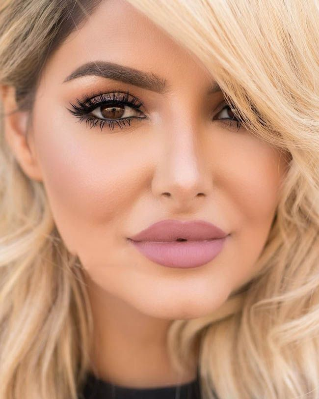 عکس های زیباترین مدل های آرایش ملایم مجلسی زنانه