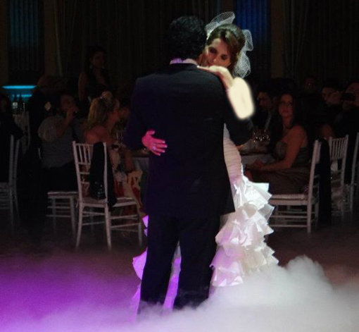 عکس های جذاب مراسم عروسی اندی و همسرش شینی