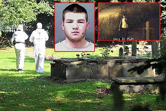 سه بار تجاوز جنسی به زن کارمند در قبرستان توسط مرد خبیث! + عکس