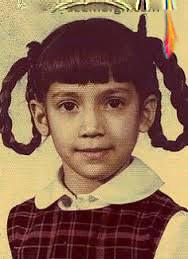 عکس کودکی جنیفر لوپز