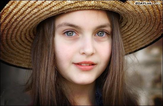 عکس های زیباترین دختر جهان در کتاب رکوردهای گینس