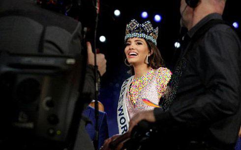 عکس های دختر زیبای لاتین استفانی دل واله Stephanie Del Valle از کشور پورتوریکو Miss World 2016