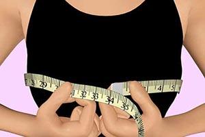 روش اندازه گیری سینه و پستان برای اندازه گیری سوتین مناسب