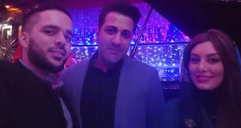 عکس های جشن تولد سحر قریشی در رستوران با حضور بازیگران