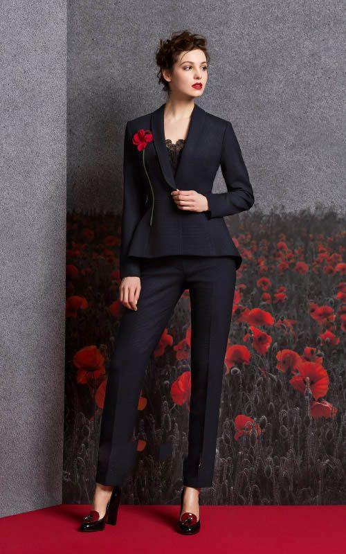 مدل لباس مجلسی زنانه زمستانی Aalena Goretskaya
