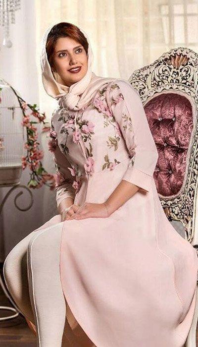 تصاویر زیباترین مدل مانتو ایرانی سارگل