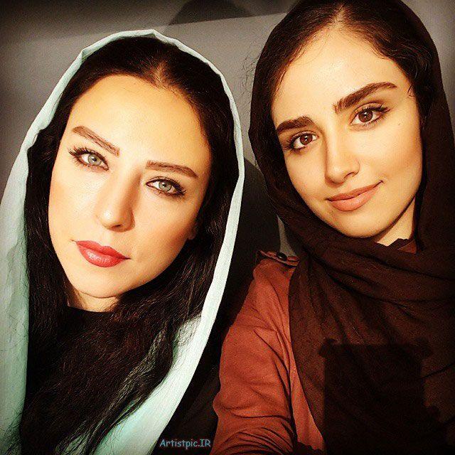 مادر و دختر زیبا و جوان که هر دو بازیگر هستند + عکس دختر و مادرش