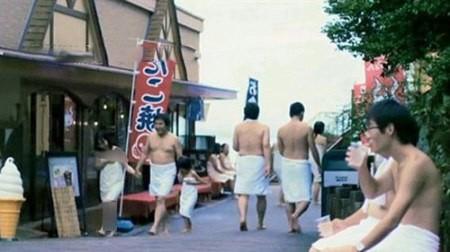 عکس های گردشگران لخت زن و مرد در پارک حمام ژاپن!