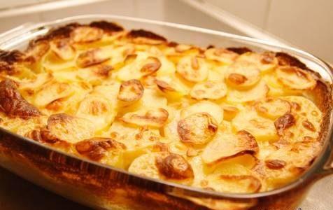 سیب زمینی فرانسوی تنوری