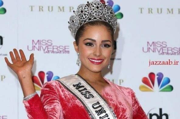 عکس اولیویا کولپو برنده ی عنوان زیباترین زن رود آیلند