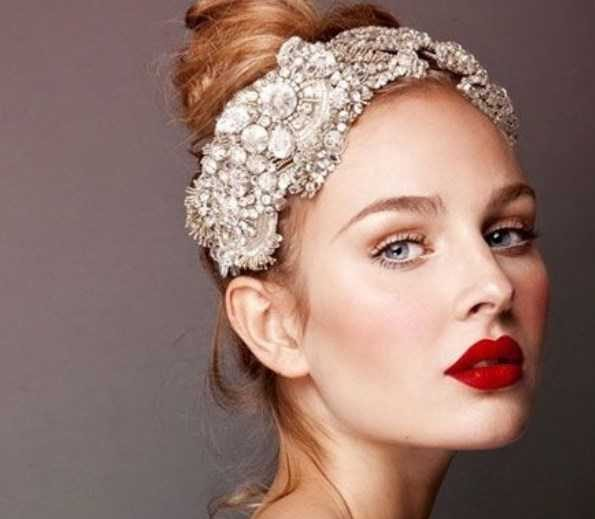 مدل آرایش عروس 2017 و مدل مو عروس 2017
