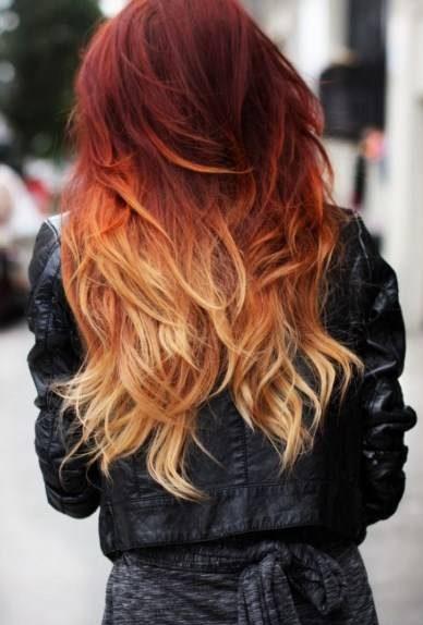 زیباترین ترکیب رنگ موی آمبره دخترانه