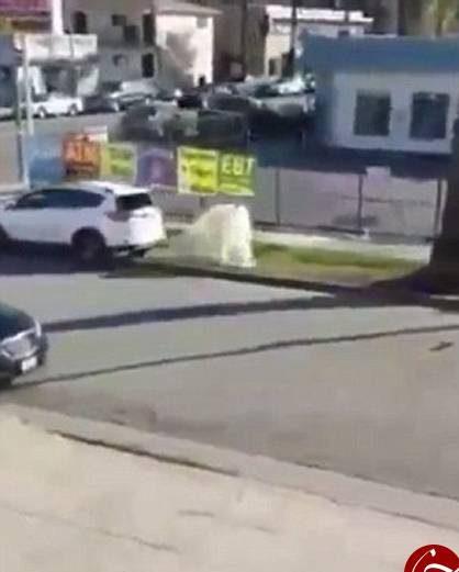 عکس های دو زن که بر سر جای پارک خودرو با هم درگیر شدند!