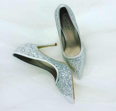 مدل کفش پاشنه بلند مجلسی پاشنه ده سانتی