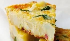 فریتاتای پنیر و سیب زمینی