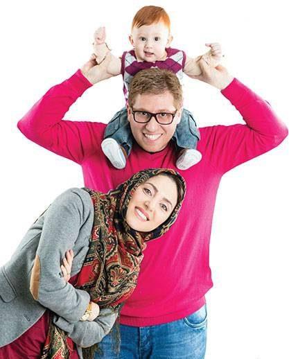 دلیل خداحافظی مهسا کرامتی از بازیگری چه بود؟ + عکس مهسا کرامتی و خانواده اش
