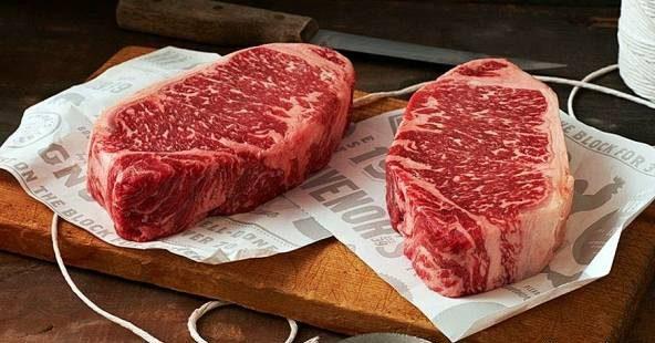 گوشت گاو با طعم شکلات