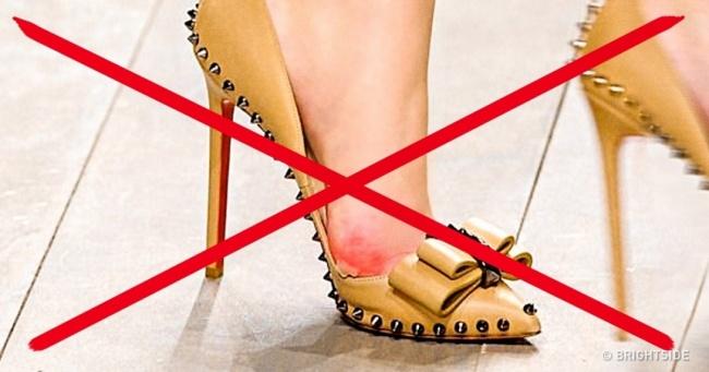 جلوگیری از زخم شدن پا به دلیل پوشیدن کفش نو