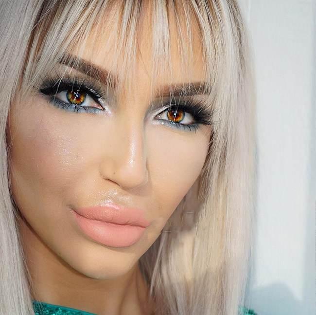 مدل های جذاب آرایش صورت Mirellamendes