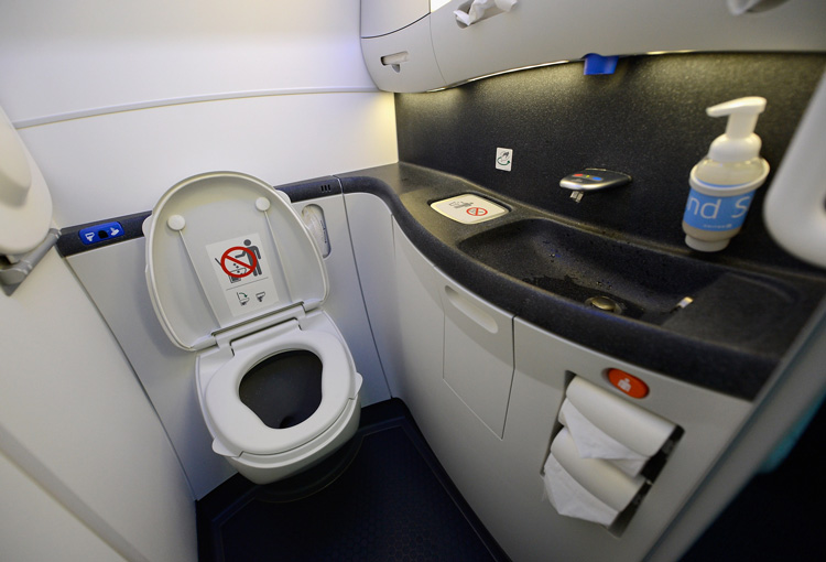 توالت هواپیما